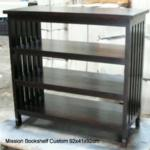 Mission Bookshelf custom 92x41x92cm