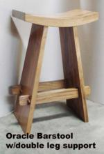 Oracle Barstool w double leg support
