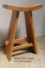 Oracle Barstool w leg support